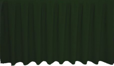 Skirting Kellerfalte - dark green
