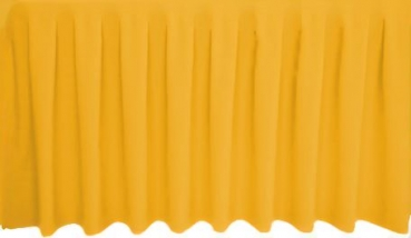 Skirting Kellerfalte - gold
