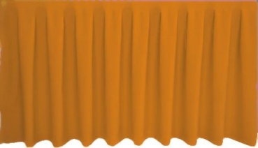 Skirting Kellerfalte - golden brown