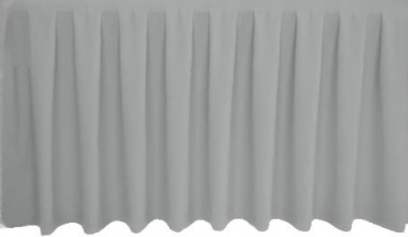 Skirting Kellerfalte - grey
