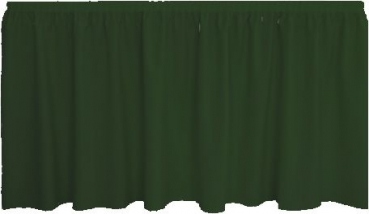 Skirting Plissee - dark green