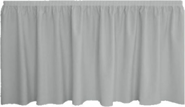 Skirting Plissee - grey